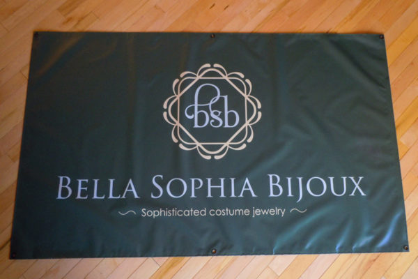 Recently Completed: Bella Sophia Bijoux Large Format Banner