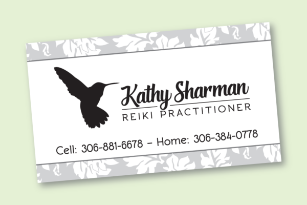 Recently Completed: Kathy Sharman logo and business card