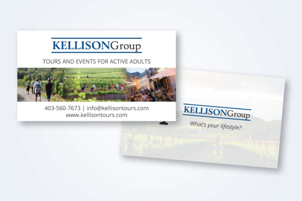 Recently Completed: Kellison Tours Business Card