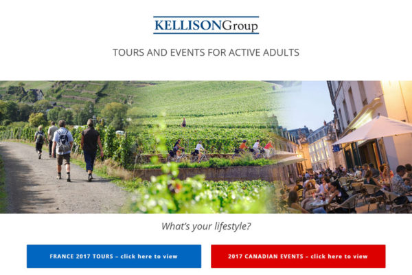 Recently Completed: Kellison Tours Website