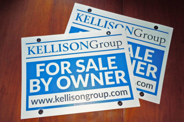 Recently Completed: Kellison Group For Sale Signs
