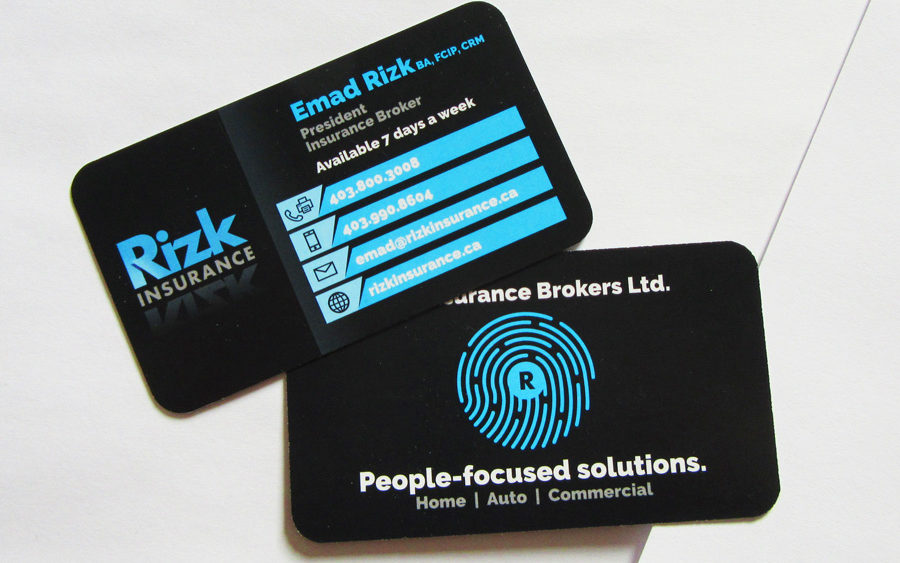 Recently completed rizk insurance stationary set business card recently completed rizk insurance stationary set business card letterhead envelopes electris design colourmoves