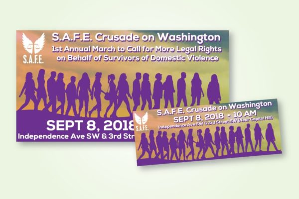 Recently Completed: SAFE Crusade Event Images for Social Media