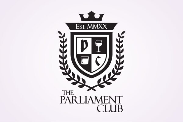 "Recently Completed: Sierra Springs Liquor ""Parliament Club"" Logo"