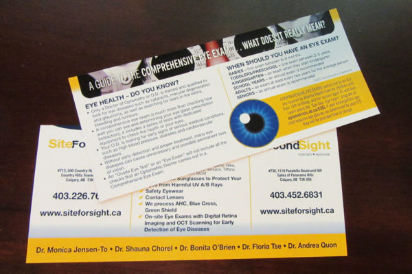 Recently Completed: Site For Sight / Second Sight Recall Cards