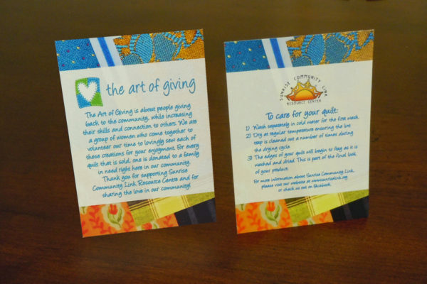 Recently Completed: The Art of Giving Tags