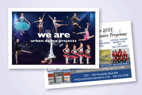 Recently Completed: Urban Dance Projects Postcard