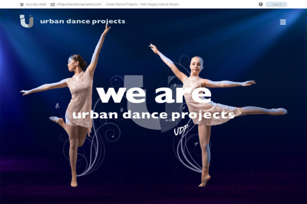 Recently Completed: Urban Dance Projects Website