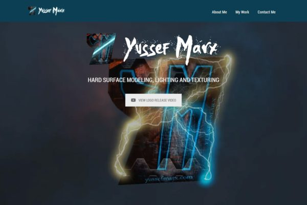 Recently Completed: Yussef Marx Website Refresh