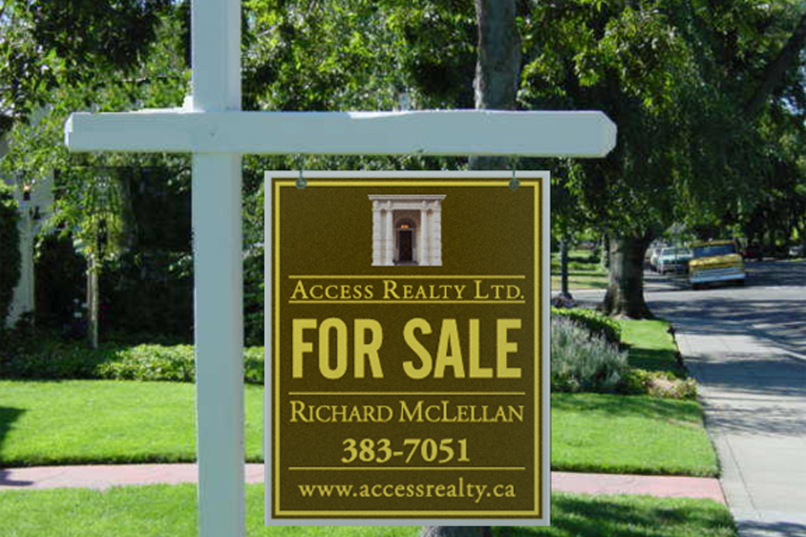 Access Realty sign