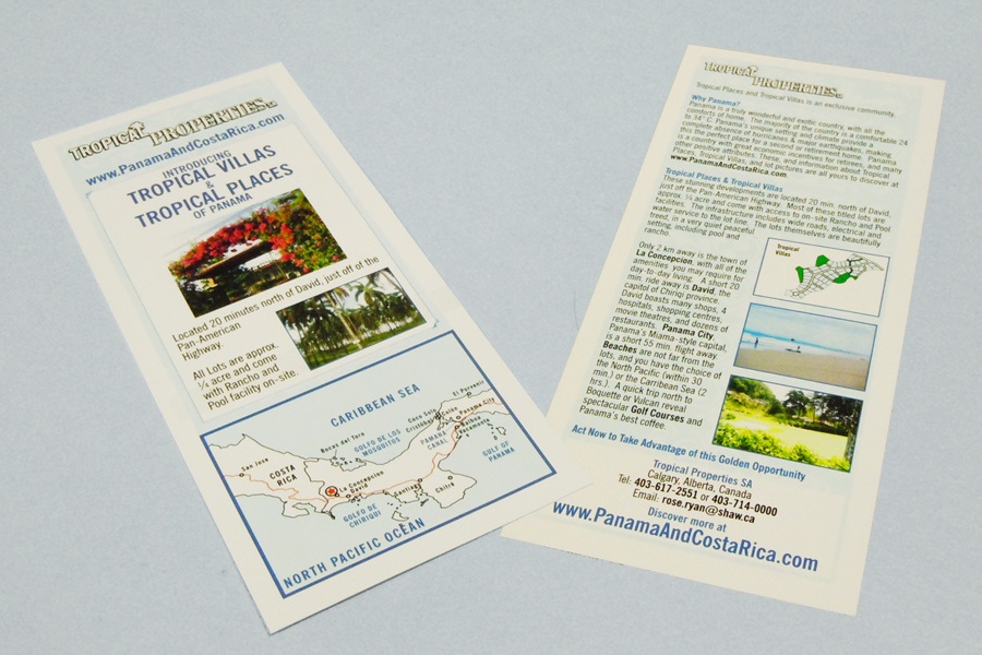 Tropical Properties leaflet